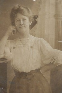 Julia's friend circa 1915